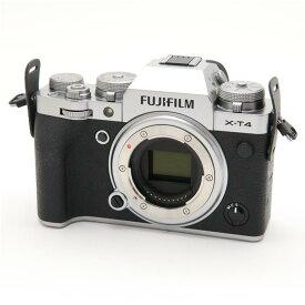 【あす楽】 【中古】 《新同品》 FUJIFILM X-T4 ボディ シルバー [ デジタルカメラ ]