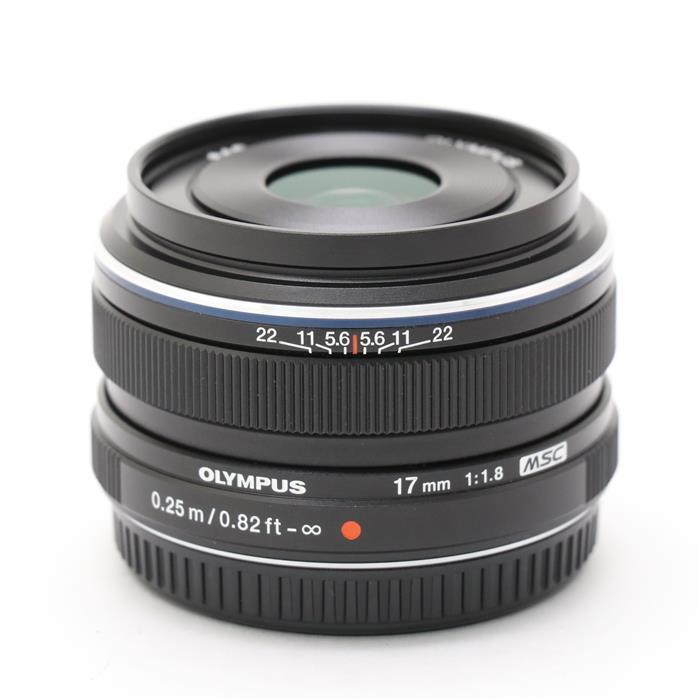 【あす楽】 【中古】 《美品》 OLYMPUS M.ZUIKO DIGITAL 17mm F1.8 ブラック (マイクロフォーサーズ) [ Lens | 交換レンズ ]