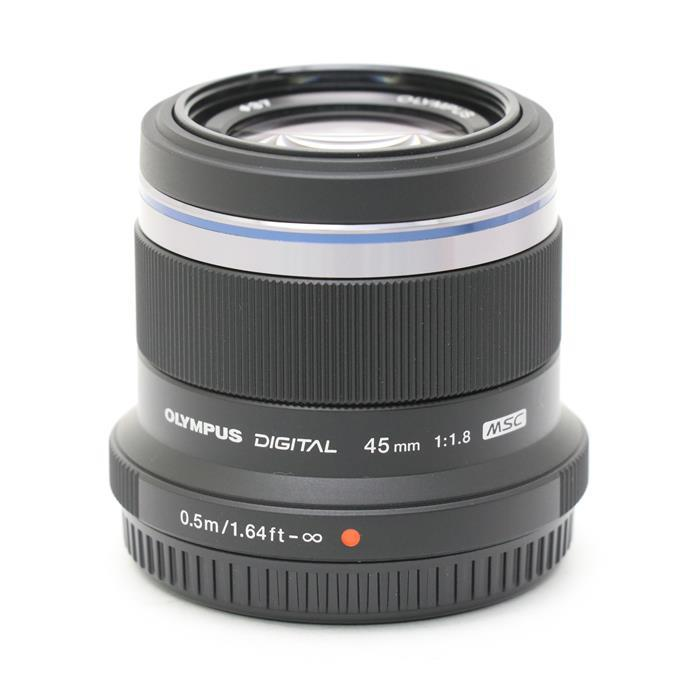 【あす楽】 【中古】 《新同品》 OLYMPUS M.ZUIKO DIGITAL 45mm F1.8 ブラック (マイクロフォーサーズ) [ Lens | 交換レンズ ]