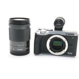 【あす楽】 【中古】 《良品》 Canon EOS M6 Mark II EF-M18-150 レンズEVFキット シルバー [ デジタルカメラ ]