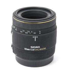 【あす楽】 【中古】 《並品》 SIGMA AF 50mm F2.8 EX DG MACRO (キヤノン用) [ Lens | 交換レンズ ]