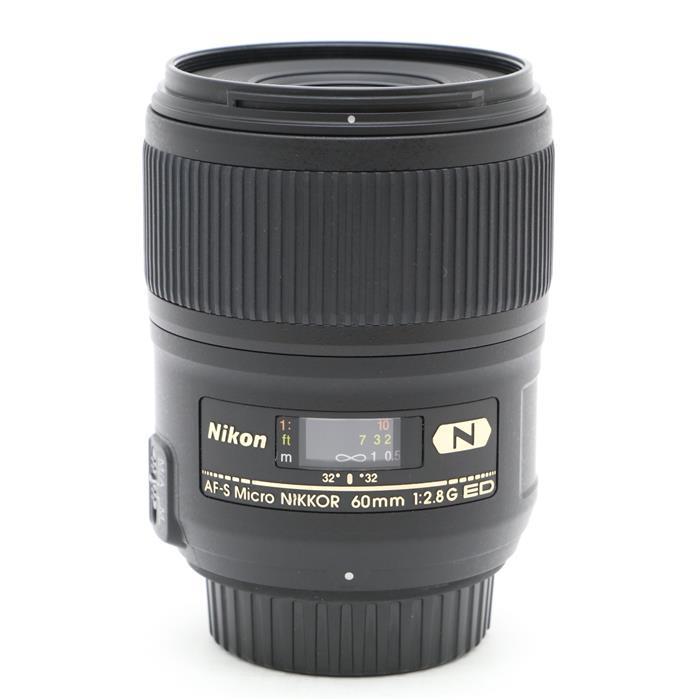 【あす楽】 【中古】 《良品》 Nikon AF-S Micro NIKKOR 60mm F2.8 G ED [ Lens | 交換レンズ ]