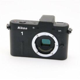 【あす楽】 【中古】 《並品》 Nikon Nikon 1 V1 ボディ ブラック [ デジタルカメラ ]