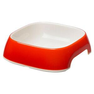 イタリアferplast製 グラム GLAM XS 0.2? レッド 小型犬 餌入れ えさ入れ フードボール 犬 猫 軽い プラスチック製 滑り止め付き 食器