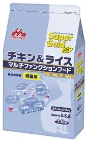 森乳 スーパーゴールド キャット チキン&ライス 成猫用 1.6kg