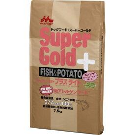 森乳サンワールド フィッシュ&ポテト プラスライト 肥満・関節の健康に配慮 7.5kg