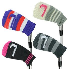 【メール便送料無料】 アイアンカバー 10個セット H-66 ゴルフ用品 ヘッドカバー 単品 ニット アイアンヘッドカバー メンズ レディース 可愛い オシャレ ゴルフアイアンカバー