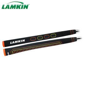 【メール便送料無料】 LAMKIN ラムキン SINK 13 SQUARE オレンジ×イエロー パターグリップ 101410 日本正規品 ゴルフグリップ ゴルフ用品