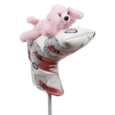 【送料無料】プードルパターカバーピンタイプWHC1792ゴルフ用品アニマル動物かわいい