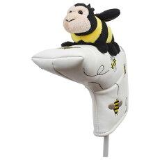 【送料無料】ハチパターカバーピンタイプWHC1791ゴルフ用品アニマル動物かわいい