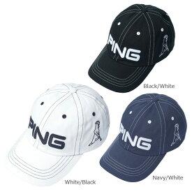 【送料無料】 PING ピン コットン アンストラクチャー 6パネル キャップ Mr.PING メンズ 日本正規品 ゴルフ用品 帽子 ゴルフキャップ ピンゴルフ