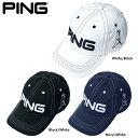 PING ピン コットン アンストラクチャー 6パネル キャップ Mr.PING 33956 日本正規品 ゴルフ用品 帽子 ゴルフキャップ 父の日