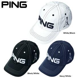 【送料無料】 PING ピン コットン アンストラクチャー 6パネル キャップ Mr.PING 日本正規品 ゴルフ用品 帽子 ゴルフキャップ ピンゴルフ