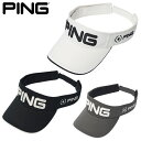 PING ピン ツアーサンバイザー 日本正規品 ゴルフ用品 キャップ 帽子 ゴルフキャップ ゴルフサンバイザー メンズ レディース おしゃれ
