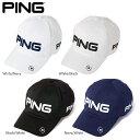 PING ピン 6パネル アンストラクチャー ツアー P.Y.B キャップ 33850 日本正規品 ゴルフ用品 帽子 ゴルフキャップ 父…