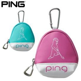 【2019年秋冬モデル】 PING ピン ボールケース GB-L196 日本正規品 ゴルフ用品 レディース