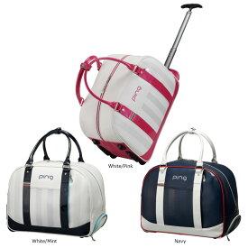 【9月20日発売】 PING ピン レディース ローラーボストンバッグ GB-L193 日本正規品 ゴルフ用品 ゴルフバッグ