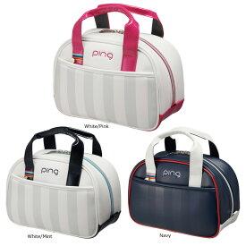 【9月20日発売】 PING ピン レディース ラウンドポーチ GB-L194 日本正規品 ゴルフ用品 ゴルフバッグ