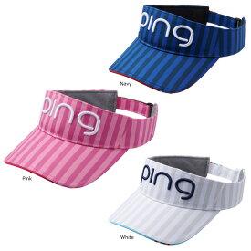 PING ピン レディース サンバイザー HW-L192 日本正規品 ゴルフ用品 帽子