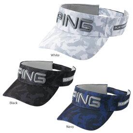 【送料無料】 PING ピン メンズ カモバイザー HW-C203 日本正規品 ゴルフ用品 帽子 ゴルフキャップ ピンゴルフ