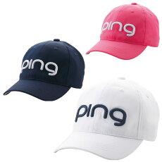 【送料無料】PINGピンレディースツアーキャップHW-L201日本正規品ゴルフ用品帽子ゴルフキャップピンゴルフ