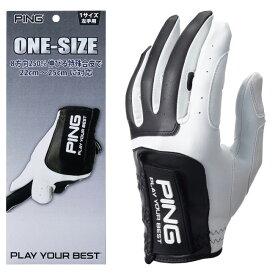 【メール便送料無料】 PING ピン ゴルフ ワンサイズ グローブ GL-P203 左手用 右手用 ゴルフ用品 ゴルフグローブ 手袋