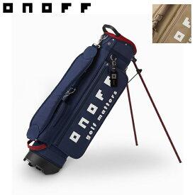 ONOFF オノフ スタンドキャディバッグ 7型 OB1517 ゴルフ用品 ゴルフバッグ 軽量 おしゃれ メンズ レディース
