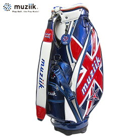 【あす楽対応】ムジーク 限定 キャディバッグ UKモデル ゴルフ用品