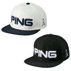【3月12日発売】【2021年】【送料無料】PINGピンフラットビルメンズHW-U213日本正規品ゴルフ用品帽子ゴルフキャップピンゴルフ