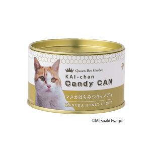 【ポイント15倍】【賞味期限間近】海ちゃん マヌカキャンディ缶 ポイント15倍 缶 猫 かわいい