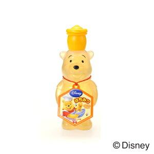 【くまのプーさんはちみつ ボトル190g】くまのプーさん プーさん Disney ディズニー キャラクター カナダ産 はちみつ ハチミツ 蜂蜜 かわいい プーさん型 ボトル 190g フード 食品
