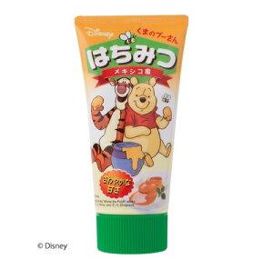 くまのプーさん/メキシコ産はちみつチューブ くまのプーさんプーさん Disney ディズニー キャラクター メキシコ産 オレンジ はちみつ ハチミツ 蜂蜜 フード 食品 チューブ 使いやすい
