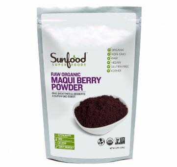 【オーガニック】サンフードオーガニック マキベリー パウダー 大【226g】Sunfood Organic MaquiBerry 8oz