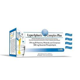 リポスフェリック Bコンプレックス ミネラル・ビオチン・シナモン プラス大人気の液体サプリメントLypo-Spheric B Complex Plus