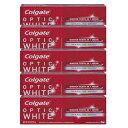 6本セット コルゲート オプティック ホワイト 99g Colgate Optic White Sparkling Mint Toothpaste 3.5oz ...