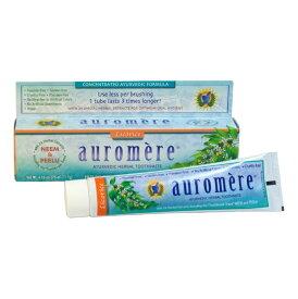 アーユルヴェーダ歯磨き粉オーロメア オリジナル味