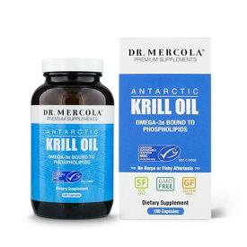 Dr. Mercola クリルオイル 1000mg【180カプセル】 ドクターメルコラ Krill Oil