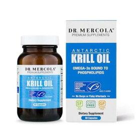 Dr. Mercola クリルオイル 1000mg【60カプセル】 ドクターメルコラ Krill Oil
