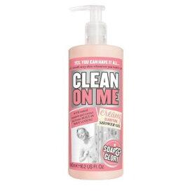 ソープ&グローリー クリーンオンミー クリームソープ 【500ml】 ナチュラルマンダリンピール配合 Soap & GloryClean On Me Creamy Clarifying Shower Gel