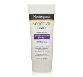 ニュートロジーナ 敏感肌用 センシティブ SPF60 日焼け止め 88ml 毛穴を塞がないウォータープルーフタイプ