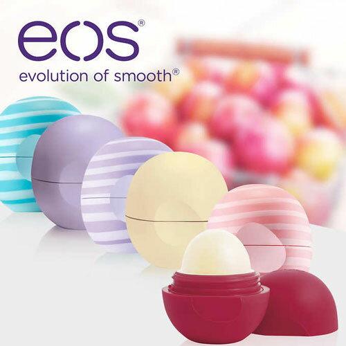 【オーガニック】EOSリップ イーオーエス オーガニック リップバーム 6個セット シアバター他 100%ナチュラル リップクリーム