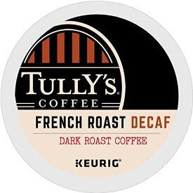 【カフェインフリー】【Tully's タリーズ】【48個入り】 フレンチロースト ダークロースト キューリグ kカップ K-CUP