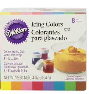 WILTON 【ウィルトン】 アイシングカラーキット 8色  各14g