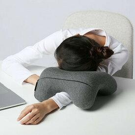 昼寝 枕 携帯枕 低反発 オフィス デスク ネックパッド クッション うつぶせ 旅行 子供 飛行機 ネックピロー お昼寝枕 うつ伏せ 枕 送料無料
