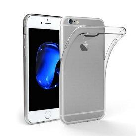 iPhone 5 6 7 8 Plus X 透明 ケース 高品質 クリア TPU素材 落下防止 衝撃吸収 擦り傷防止 薄&柔軟型 最軽量 ポイント 消費
