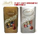 リンドール 600g 48個入 チョコレート アソート リンツ コストコ ゴールド シルバー 2021年入荷分 外箱なし Lindt 個…
