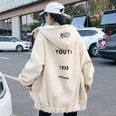 【送料無料】レディース パーカー 長袖 裏起毛 バットスリーブ トレーナー フード付き スウェット 大きいサイズ 韓国 ファッション レディースファッション