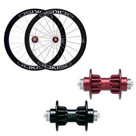 GOKISO (ゴキソ) クライマー チューブラー シマノ用 ホイールセット 50mm 【自転車】【ロードバイク】