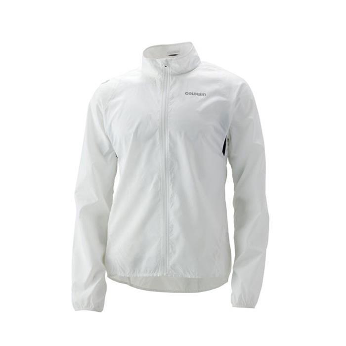 GOLDWIN (ゴールドウイン) ポケッタブル ライトジャケット ホワイト Sサイズ 【自転車】