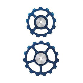 BERNER(バーナー)セラミックプーリー SET 13T-15T BLUE 【自転車】